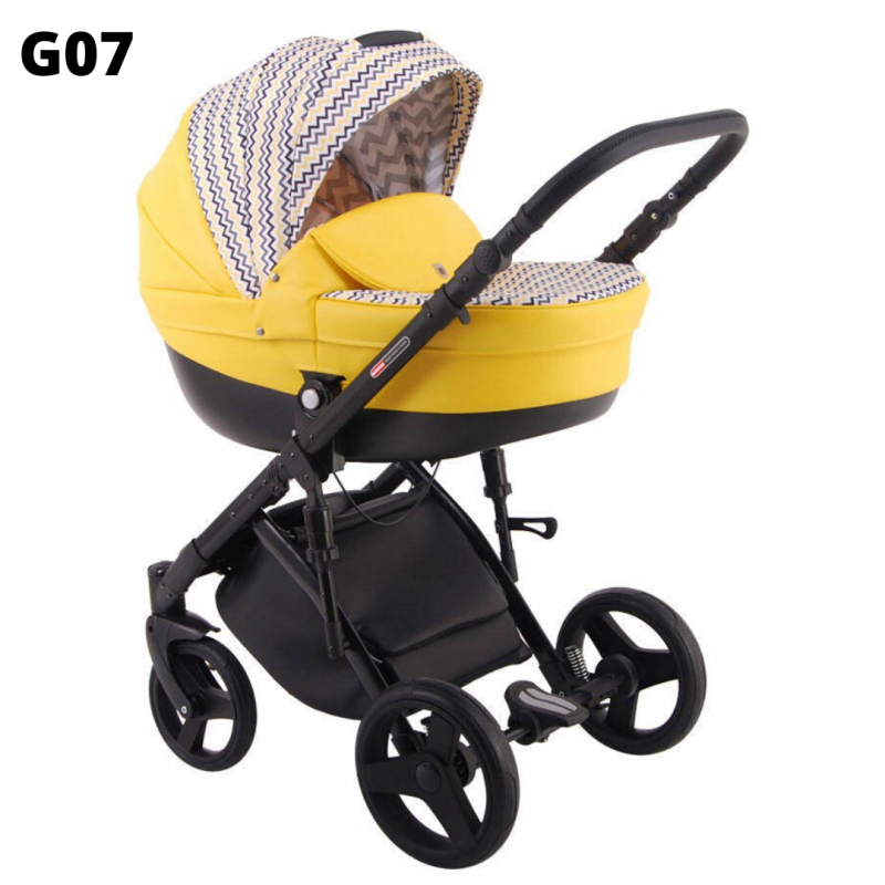 Wózek dziecięcy 3w1 Lonex GALAXY