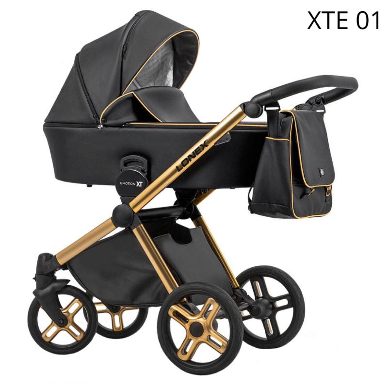 Otroški voziček 3v1 Lonex EMOTION XT ECCO