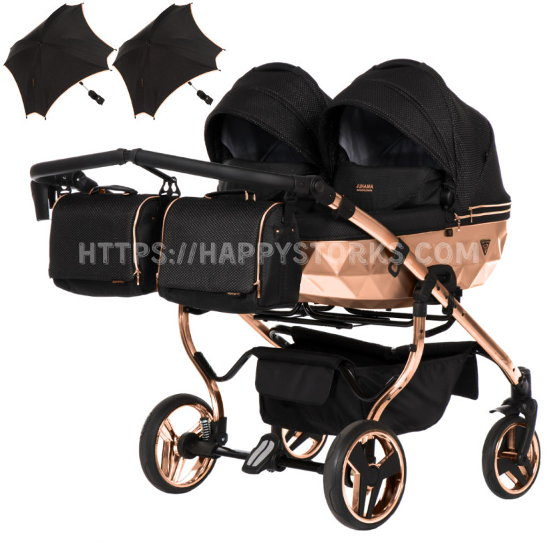 Baby trolley 4in1 Junama MIRROR Classic