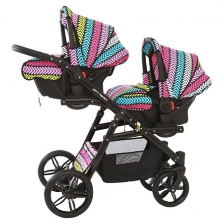 Otroški voziček 6v1 Euro-Baby TANDEM