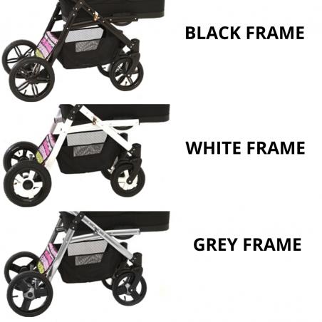 Otroški voziček 4v1 Euro-Baby TANDEM