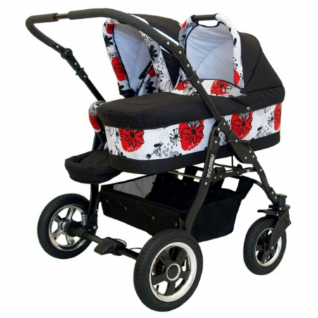 Baby trolley 6in1 Euro-Baby TWINS