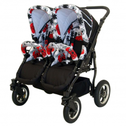 Baby trolley 4in1 Euro-Baby TWINS