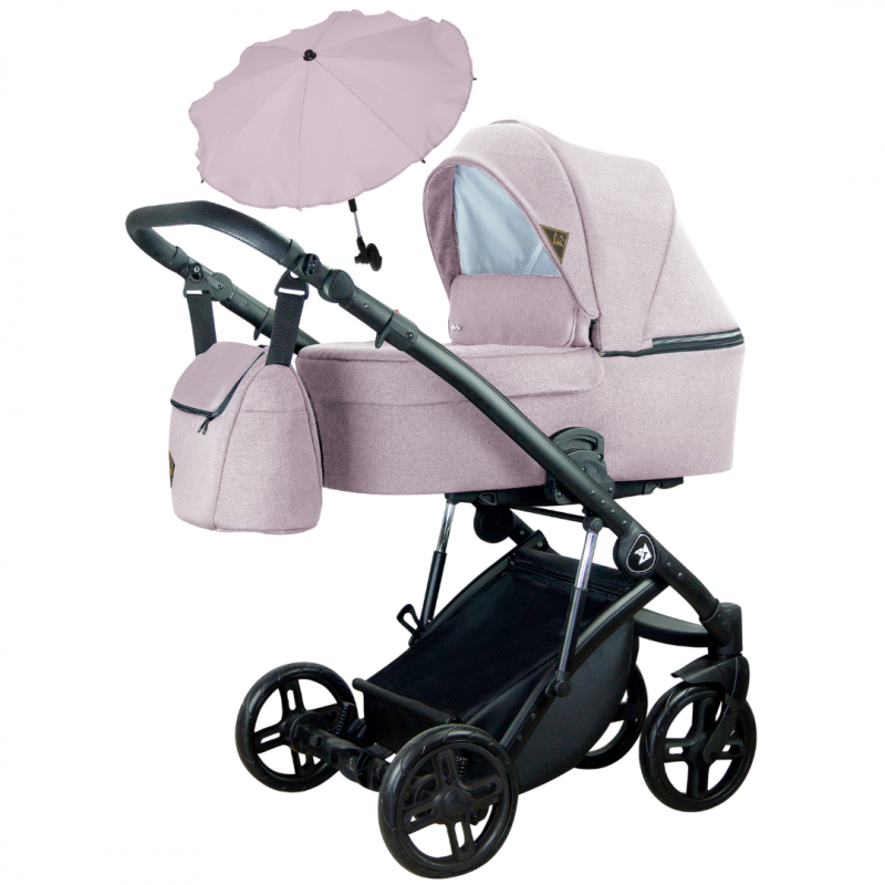 ATTESO 3IN1 - Baby trolley MILU KIDS