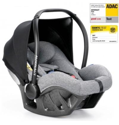 PIXEL AVIONAUT Car seat 0-13 kg (Adac 2.0) + adapters