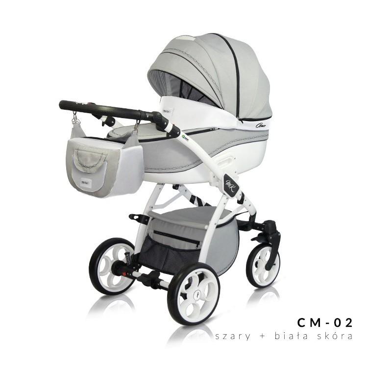Otroški voziček 3v1 Milu Kids COMO