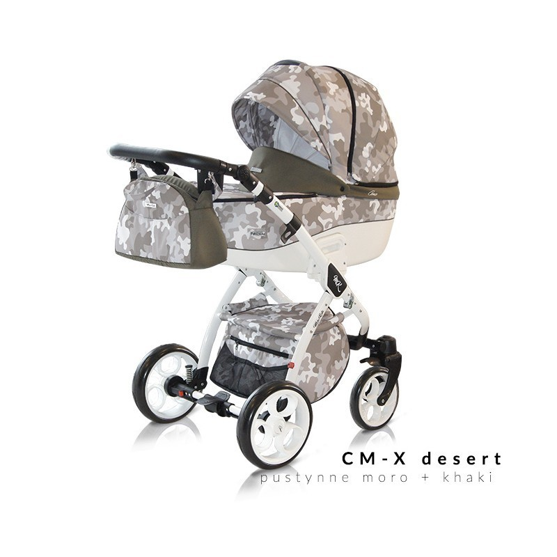 Otroški voziček 3v1 Milu Kids COMO-X